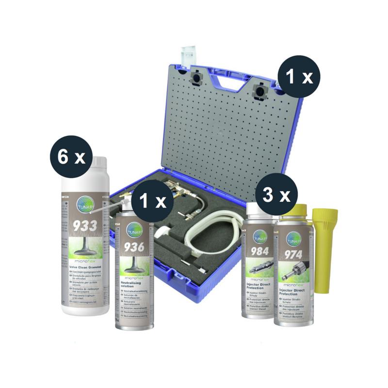 933S Valve Clean Starterset Toyota - microflex® 933S