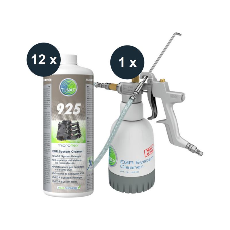 925S Startpaket AGR System Reiniger - microflex® 925S