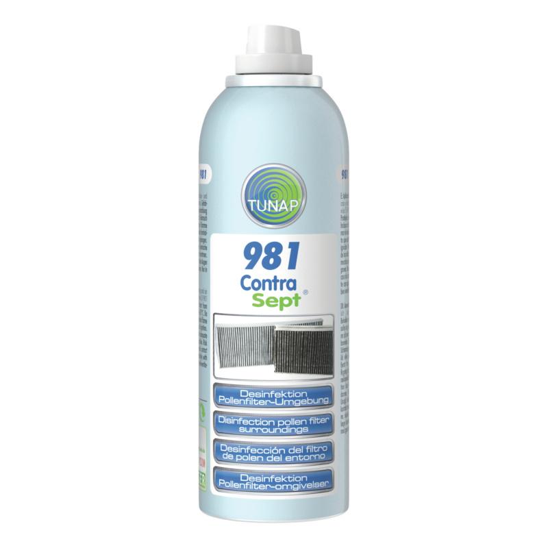 Desinfektion Pollenfilterbox - Contra Sept®