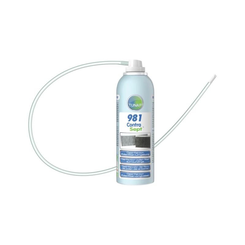 Desinfektion Pollenfilterbox mit Sonde - Contra Sept®
