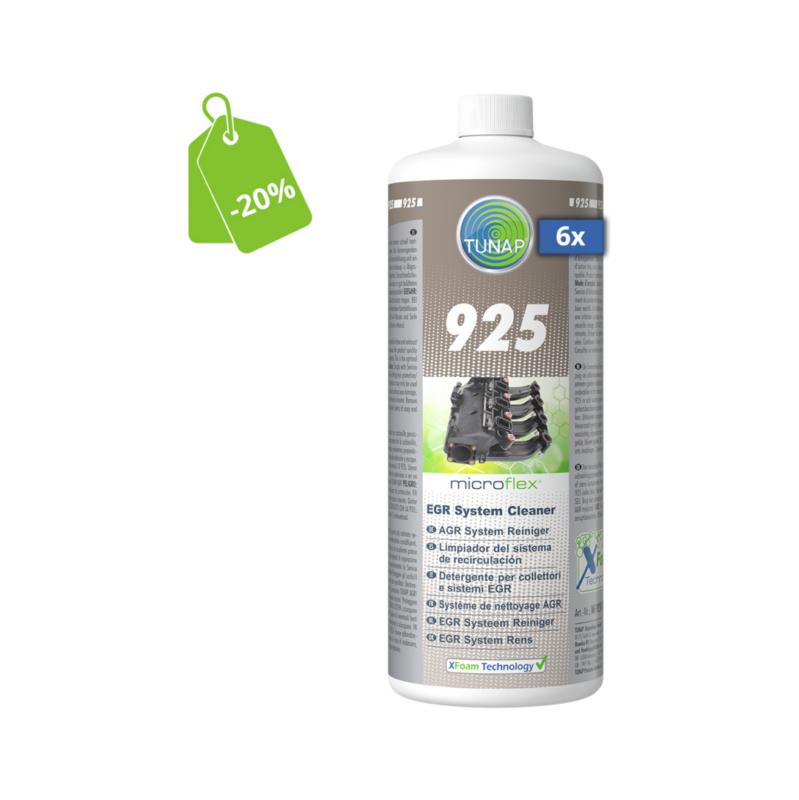 925 Detergente per collettori e sistemi EGR - 6 pz. - microflex® 925