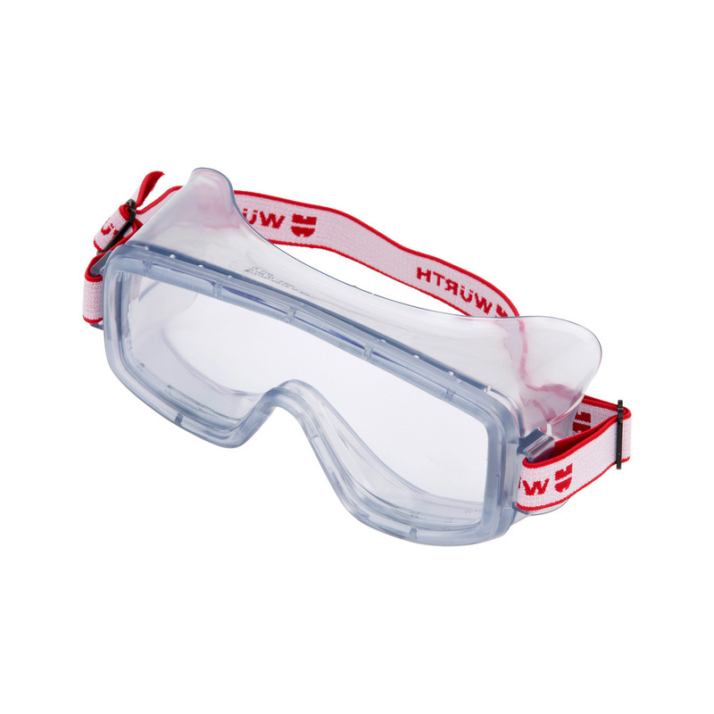 Full-vision safety goggles