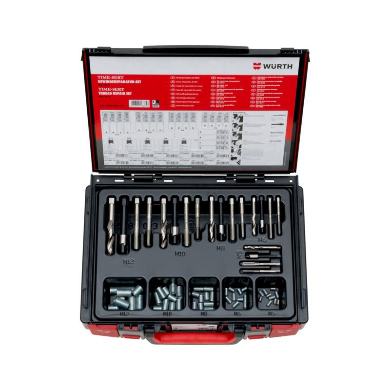 Time-Sert螺纹修复组套70件 Sysko - 螺纹修复组套-M5/M6/M8/M10/M12