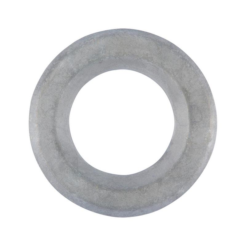 "100 Hot Dipped Galvanized Flat Washers 1//2/"""