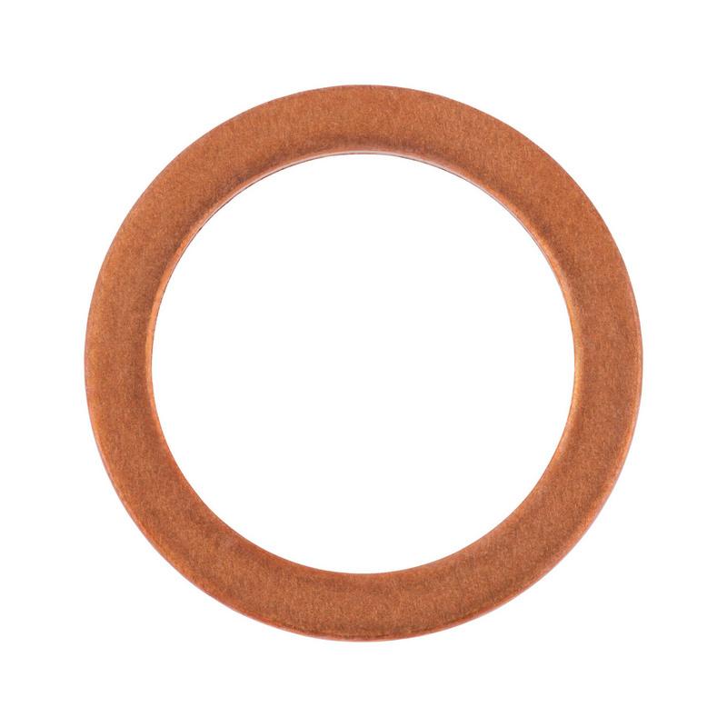10 Kupfer Dichtringe Form A DIN 7603 10 x 14 x 1  mm
