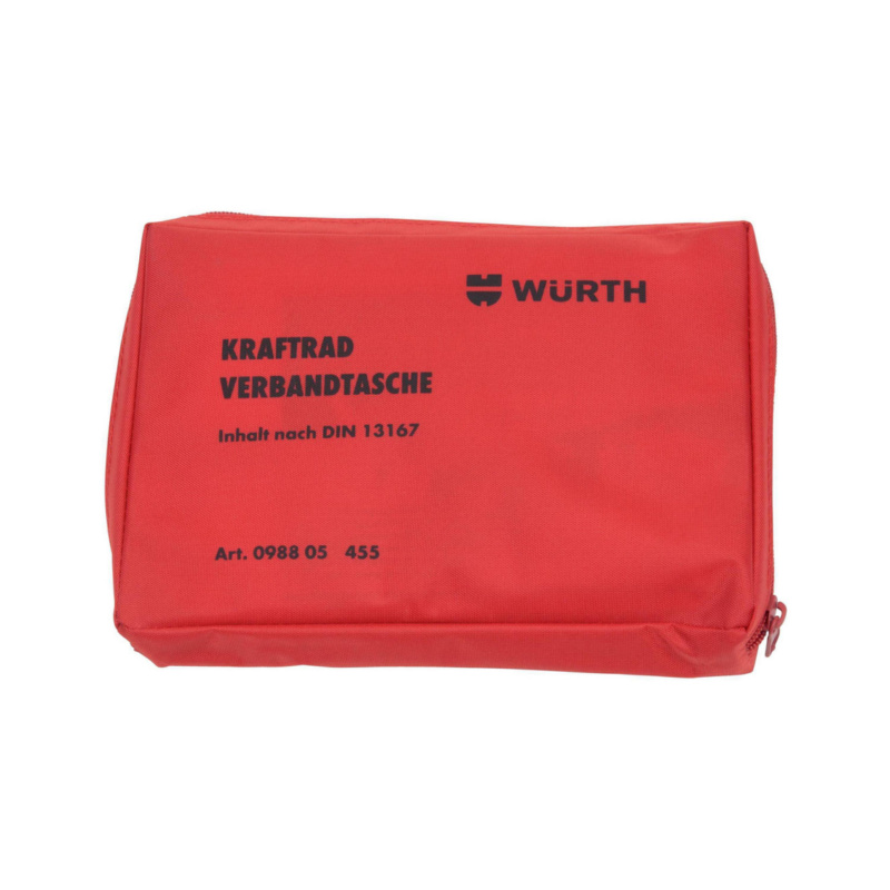 Motorcycle first-aid pouch