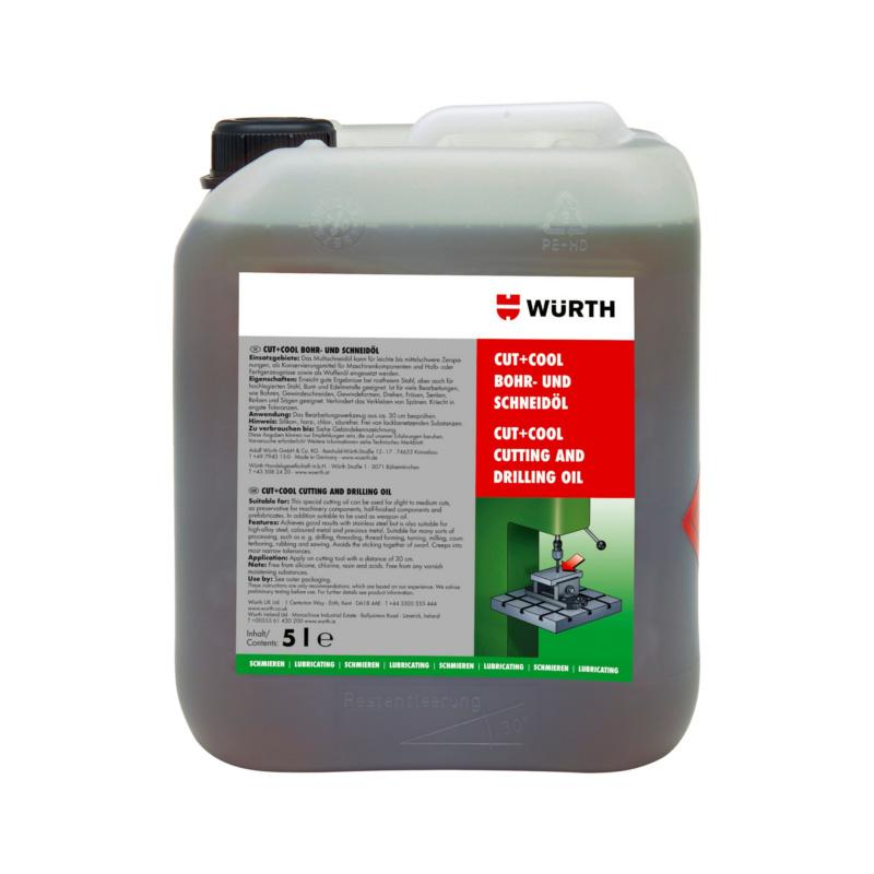 切削和钻削油 CUT+COOL - 通用型切削油-罐装-5L