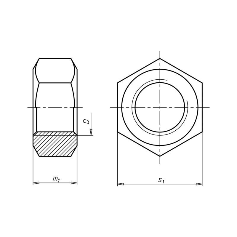 六角螺母 - 2