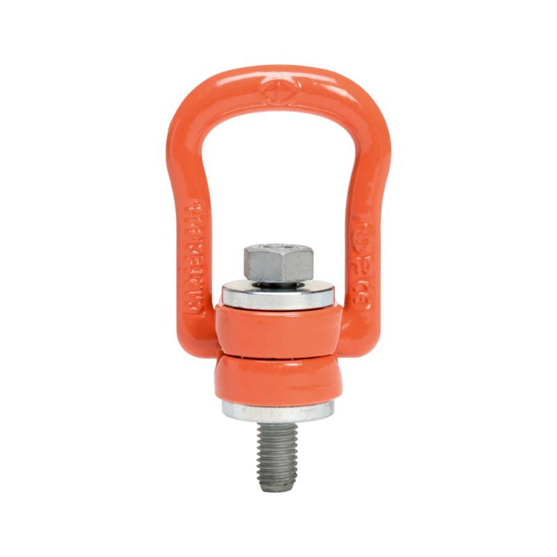 碳钢本色吊索环,可旋转 360 度 - 1