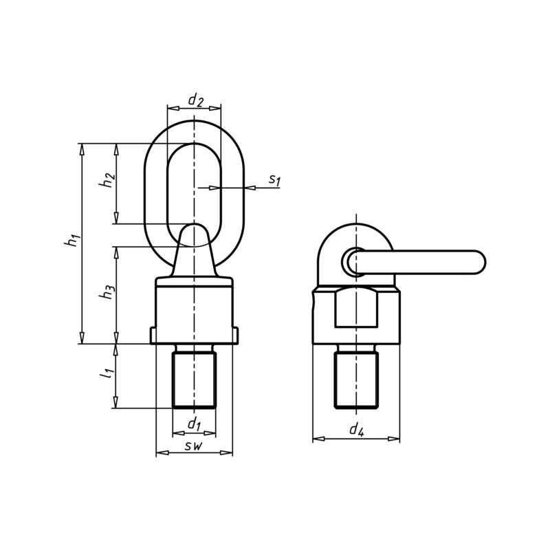 螺旋扣 GK10 - 2