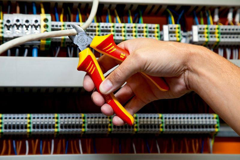 VDE 组合钳 DIN ISO 5746 IEC 60900 - 高级电工虎钳-VDE-L180MM