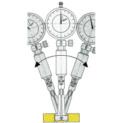 Diatest beállítógyűrű készlet
