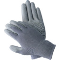 Knit protective gloves