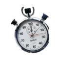 Tiempo, número de revoluciones, mediciones de frecuencia, contador de recorrido y contador de piezas