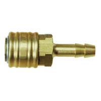 ATORN Kupplung Schlauchanschluss 6 mm LW aus Messing