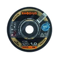 Disque à tronçonner extra-mince RHODIUS 125 x 1 x 22,2mm, droit