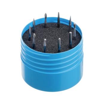 ATORN Hartmetall-Frässtift 3 mm 10-teilig Zahnung 1 ATORN Nr.: 11310430