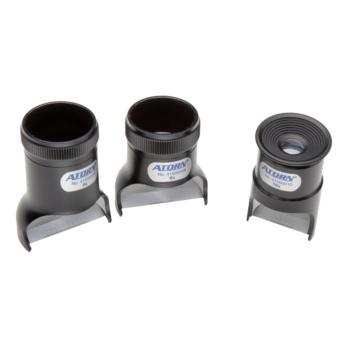 ATORN Präzisionsmesslupe Vergrößerung 8-fach Messbereich 10 mm/0,1 Teilung