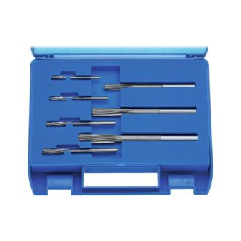 ATORN Maschinenreibahlen-Satz VHM 3-12mm H7 DIN 8093 - Maschinen-Reibahlen