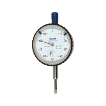ATORN dial gauges 10mm range 0.01 scale, impact pr ex diam 58mm -