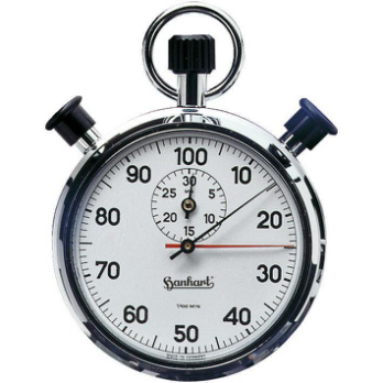 Time, rotation speed, frequency measurements, stroke and parts counting