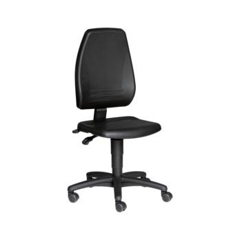 BIMOS Arbeitsdrehstuhl ECONOµ mit Rollen, Polster PU-Schaum Sitzhöhe 440-610 mm