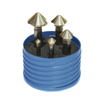 ATORN HSS 90° con. counters. set HSS T=3 extremely uneven pitch Ø 6.3–25.0mm -