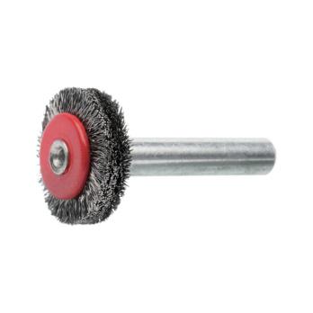 ATORN Rundbürste Durchmesser 30 mm, Schaft 6 mm Gewellter V2A Draht ...