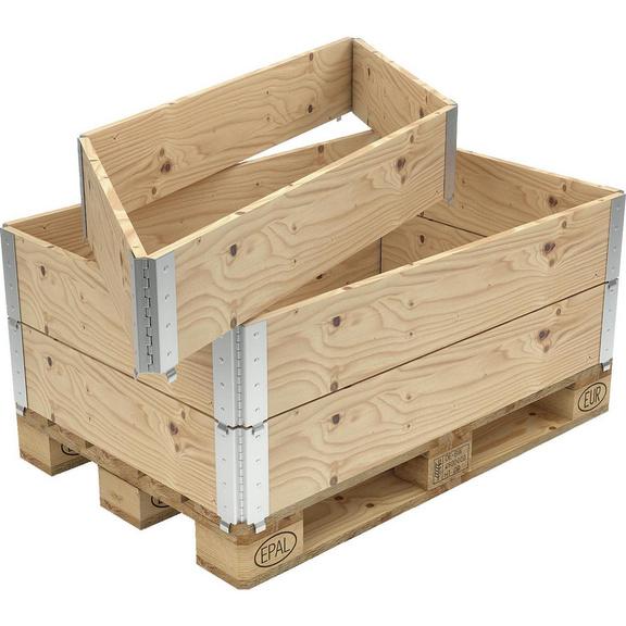 Holzaufsatzrahmen Nutz Hohe 200 Mm Fur Palette 800x1200 Mm 50264060