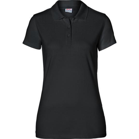 KÜBLER Damen Polo, schwarz, Größe S