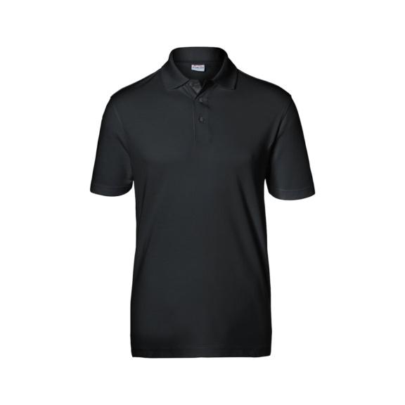KÜBLER Herren Polo, schwarz, Größe S