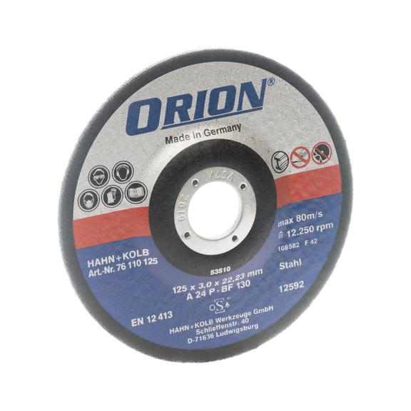 Disque à tronçonner pour métaux ORION 125x3x22mm disque universel -