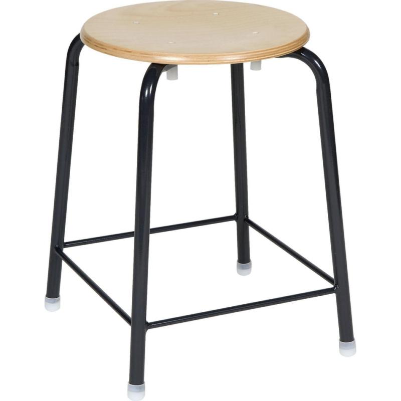 hocker mit fu verstrebung hahn kolb. Black Bedroom Furniture Sets. Home Design Ideas