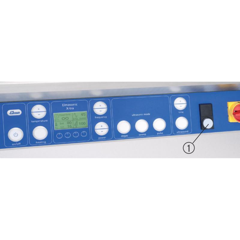 ELMA ultrasonic cleaning device XL 2700, with oscillator, max. tub ...