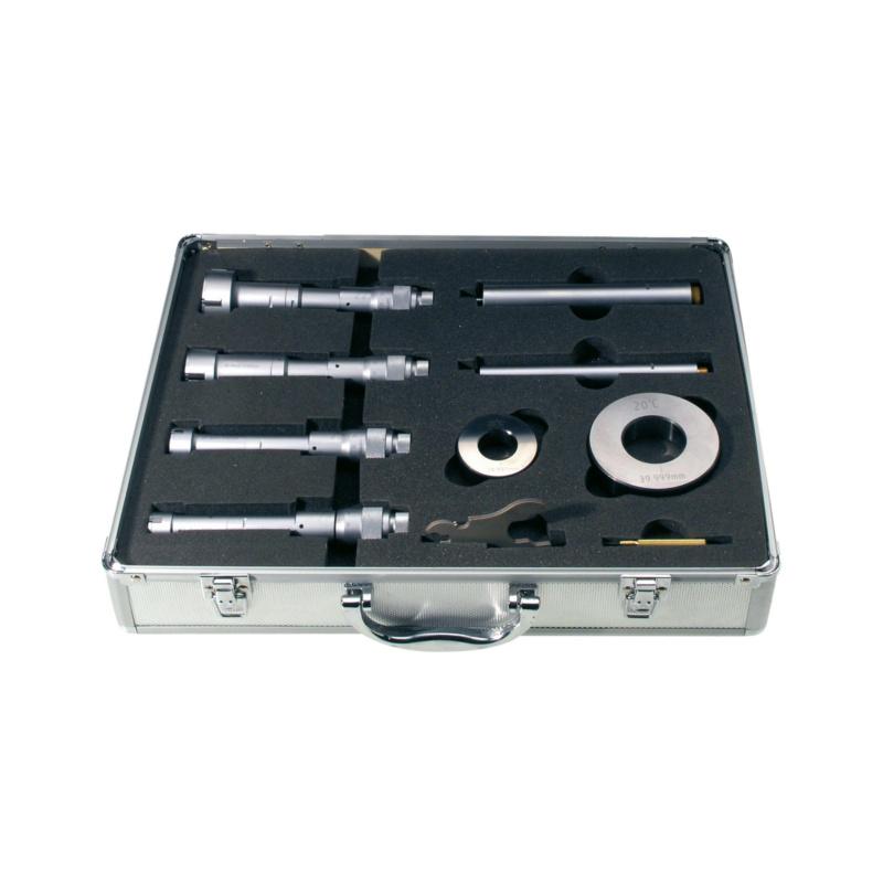 ORION iç mikrometreler 20-50 mm, çantada - 3 noktalı iç mikrometre seti