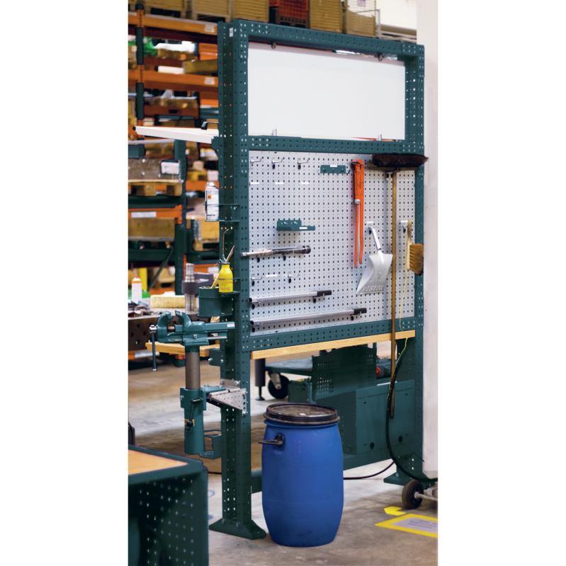 APFEL Arbeitsinsel 1525 Set K BxHxT 1490x2500x140 mm Rahmen RAL 7016 ...