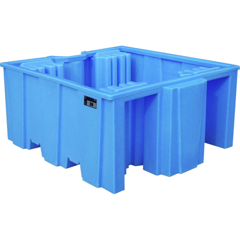auffangwanne f r 100 liter ibc container hahn kolb. Black Bedroom Furniture Sets. Home Design Ideas