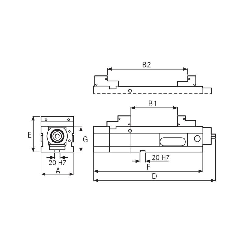 0,1 mm// RÖCKLE Präzisionswasserwaage im Etui 250 mm Empf