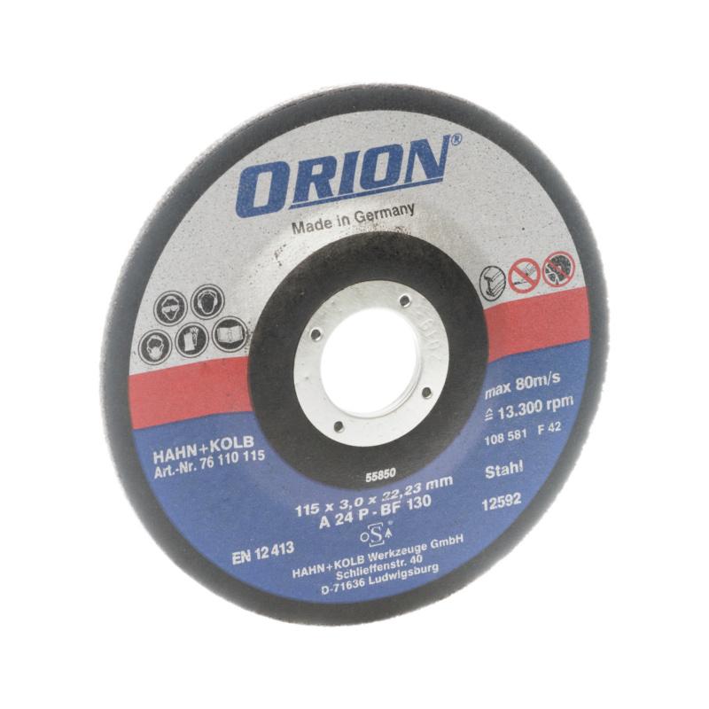 orion trennscheibe f r metall 115x3x22 mm universal scheibe 76110115 hahn kolb. Black Bedroom Furniture Sets. Home Design Ideas