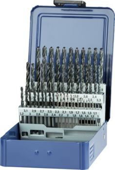 ORION spirálfúró, N, tömör keményfém betéttel 4xD 18 mmx160 mmx90 mm, 118° - Spirálfúrókészlet kazettában, N típus, HSS 5xD, gőzkezelt