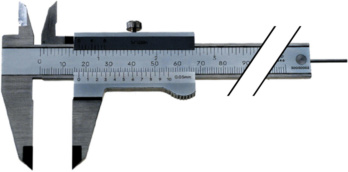 Pocket vernier callipers - ATORN INOX workshop vernier callipers 150mm, locking screw