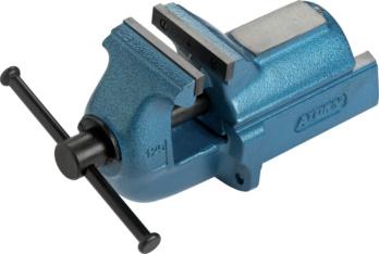 Párhuzamsatu - ATORN párhuzamsatu, 125 mm, szürkeöntvény, kék
