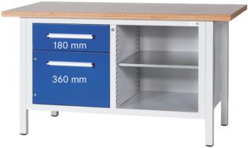 Kasten-Werkbank Serie L 1500 - HK Werkbank Serie L LxTxH 1500x750x840 mm