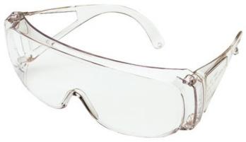 Schutzbrille DIN EN 166 F für Brillenträger - Aktionsartikel