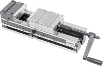 ATORN Maschinen-Schraubstock MH-S B125 mm Bettlänge 470 mm - Spannartikel Aktionen
