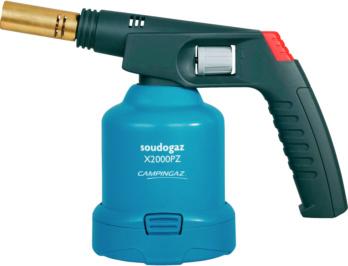 Allgemeine Werkzeuge - Lötlampe Soudogaz X 2000 PZ mit Piezo-Zündung und Brenner