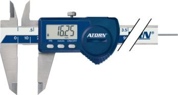 Messmittel - ATORN Messschieber elektronisch 150 mm rundes Tiefenmaß