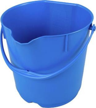 eimer aus pp 15 liter farbe blau 56761210 hahn kolb. Black Bedroom Furniture Sets. Home Design Ideas