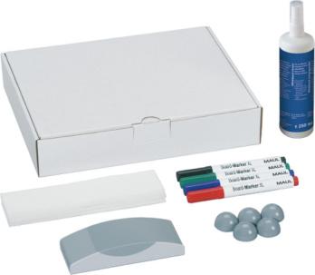 Whiteboard Zubehör-Set - Maul Whiteboard Zubehör-Set Maße 305x240x60 mm 16-teilig