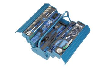 HEYCO HEYTEC Montage-Werkzeugkasten  - Preishammer: Werkzeugkasten bestückt